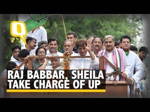 The Quint: Raj Babbar, Sheila Dikshit Take Charge of UP