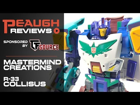 Video Review: Mastermind Creations - R-33 COLLISUS