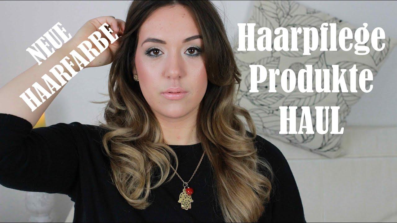 NEUER HAARSCHNITT + HAARFARBE | HAARPFLEGEPRODUKTE HAUL ...