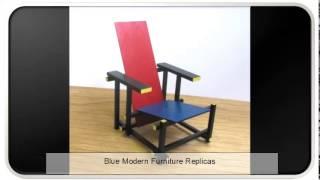 Blue Modern Furniture Replicas