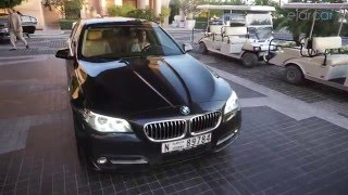 Road trip in BMW 5 Series to one and only Palm Jumeirah