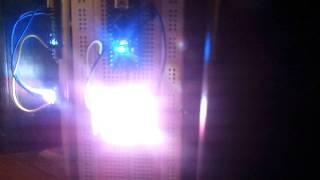 Arduino Fake TV Burglar Deterrent