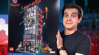 САМЫЙ БОЛЬШОЙ LEGO MARVEL НАБОР - Редакция «Дейли Бьюгл»