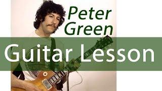 Blues Guitar Lesson Peter Green   Black Magic Woman Live at The Boston Tea Party Blues Legend #6