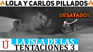 Filtrado  Lola y Carlos haciéndolo en la piscina: el nuevo vídeo viral de La isla de las tentaciones