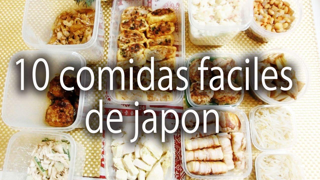 🇯🇵10 RECETAS DE COMIDA JAPONESA FACIL 🇯🇵VLOGJAPON / MyLife InJPN