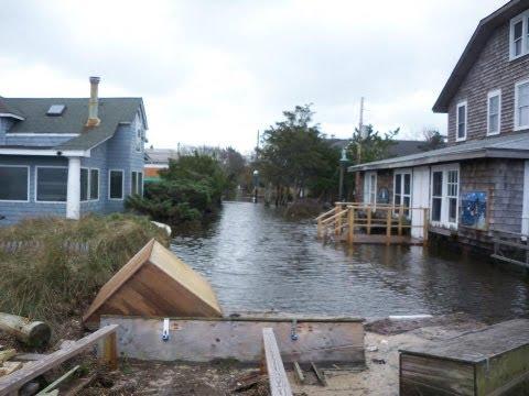 Fire Island Superstorm Sandy from Fair Harbor to Ocean Beach