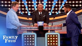 Don't want to have a XXXX like MOM'S! | Celebrity Family Feud