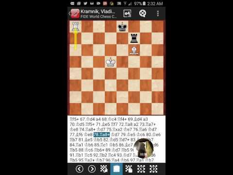 Kramnik 50 move rule