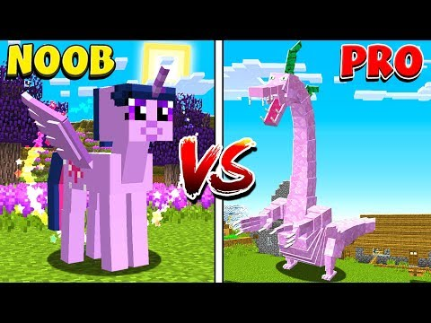 Minecraft NOOB VS PRO: MYTHICAL CREATURES in MINECRAFT!