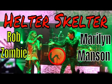 Helter Skelter ~ Rob Zombie & Marilyn Manson - Impact Music Festival 2018 - Twins of Evil