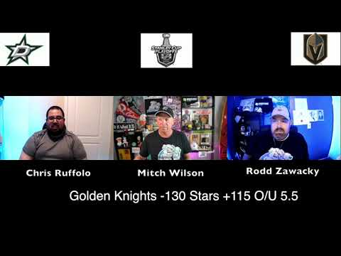 Las Vegas Golden Knights vs Dallas Stars 8/3/20 NHL Pick and Prediction Stanley Cup Playoffs (skip to 77s)