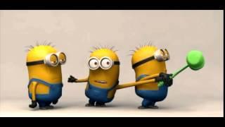 Minions - Green Toy - Happy Minions