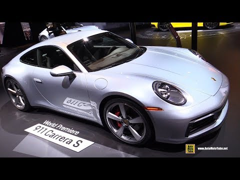 The All New 2020 Porsche 992 (911 Carrera S and 4S) Coupe & Cabriolet AutoSpoiler