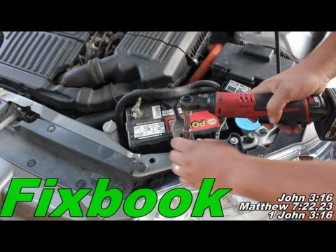Accessory Battery Replacement How To Honda Civic Hybrid