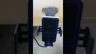 대시보드 무선충전기 사용영상