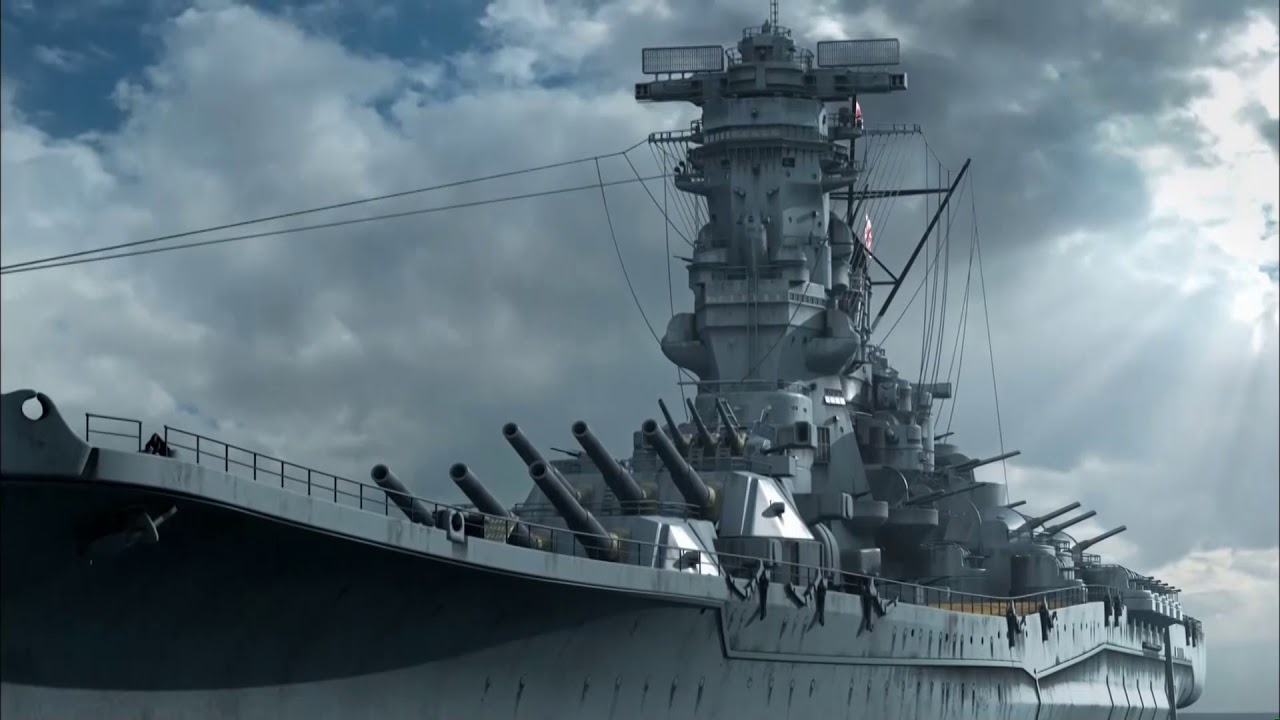 WWII Mega Weapons: Battleship Yamato - YouTube
