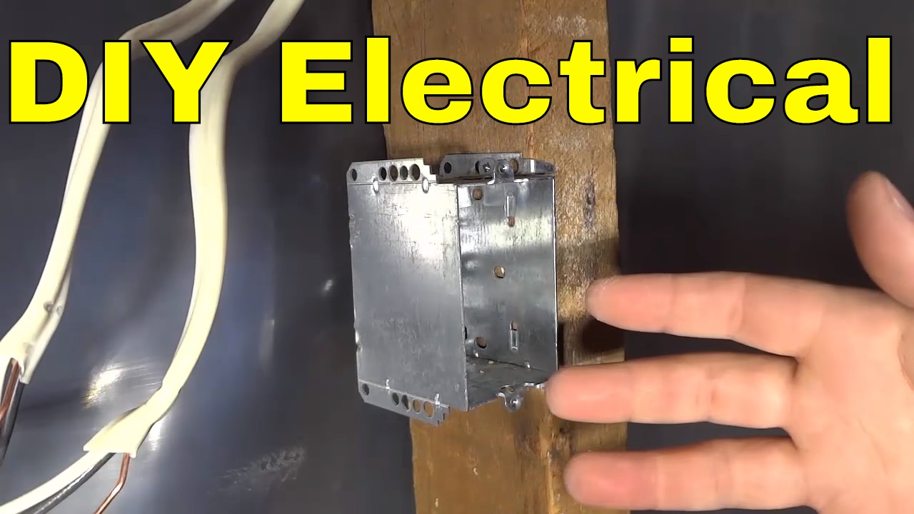 How To Remove A Light Switch Box-DIY Electrical - YouTube