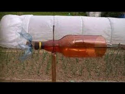 видео: ПЧЁЛЫ (Ветряк с пластиковой бутылки для пасеки)