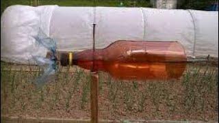 ПЧЁЛЫ (Ветряк с пластиковой бутылки для пасеки)