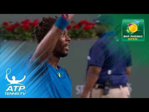Wawrinka, Monfils, Thiem march on | Indian Wells 2017 Highlights Day 5
