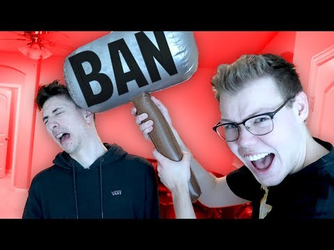 USING A BAN HAMMER IN REAL LIFE!! (Roblox IRL)