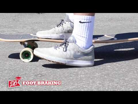 Longboarding 101 - How to Stop; Foot Breaking, Advanced Carving, Coleman Slide