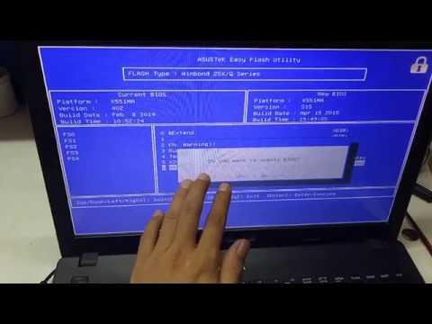 reflash asus laptop bios