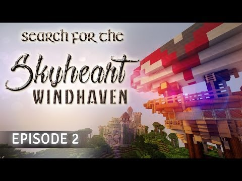 Search for the Sky Heart: Windhaven - EPISODE 2 - Minecraft Adventure Map