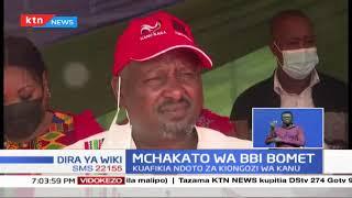 Kiongozi wa CCM Isaac Rutto, amesema kuwa chama chake kitamuunga mkono Gideon Moi 2022