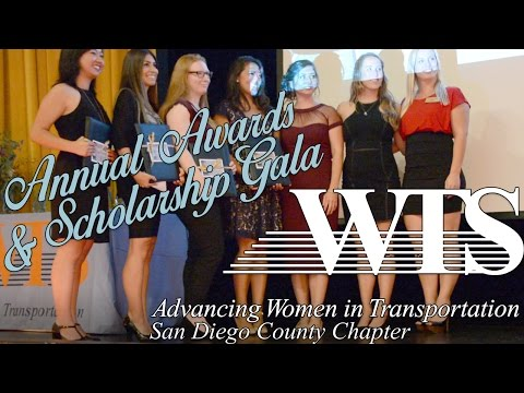WTS San Diego County Chapter 2016 Annual Awards & Scholarship Gala