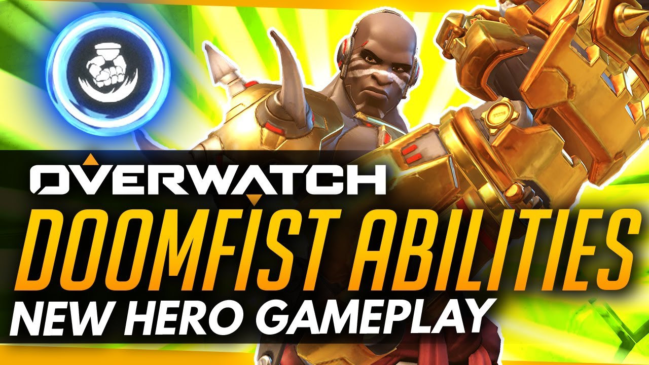 Overwatch's new hero is Doomfist  and you can check him out now