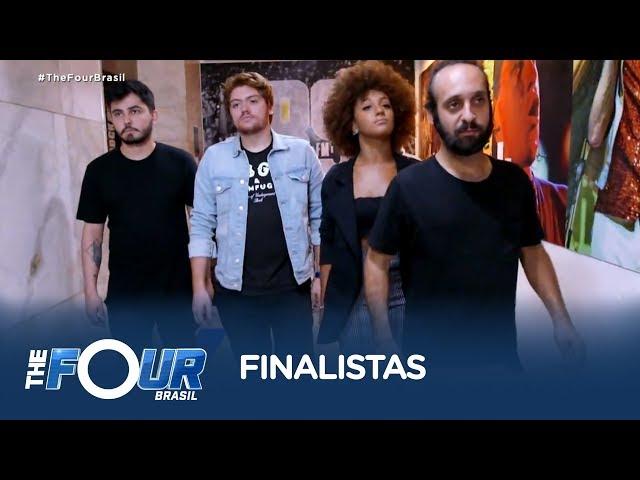 Finalistas conhecem o cantor Daniel e falam sobre experiência de participar do The Four Brasil