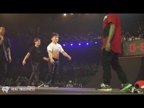 Team USA vs Team KOREA Bboy Final G-SHOCK REAL TOUGHNESS 2016 | YAK BATTLES