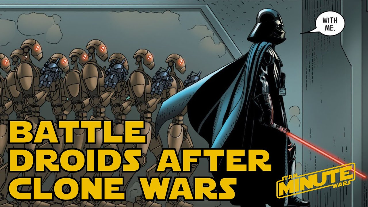 Why didn't the Republic make a Droid army to counter the ...
