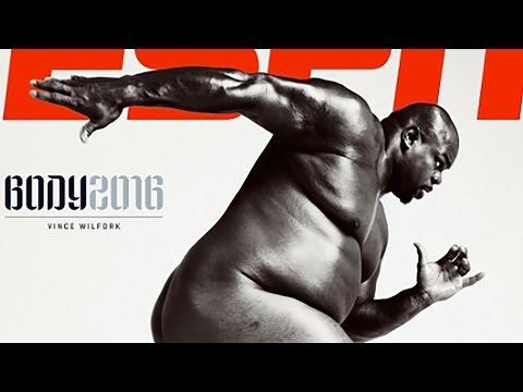 Vince Wilfork Butt Naked on ESPN