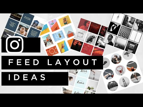 Instagram Feed Layout Ideas