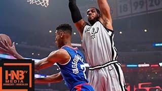 San Antonio Spurs vs LA Clippers 1st Qtr Highlights | 11.15.2018, NBA Season