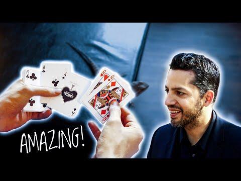 LEARN David Blaine's BEST Signature Card-Trick!! // TUTORIAL