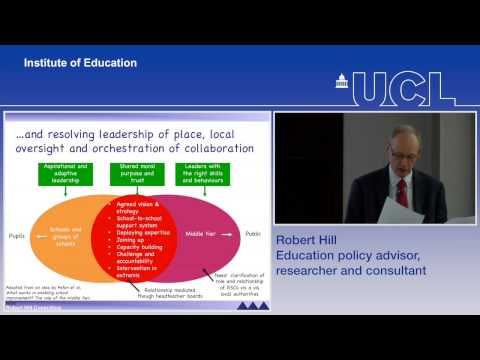 LLCL Annual Lecture 2015 - School leadership in the next 5 years | UCL Institute of Education