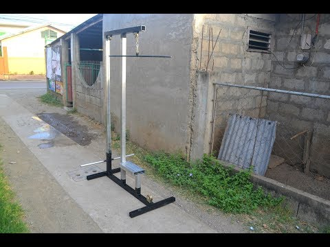 How to Make Homemade Lat PullDown Machine