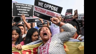 CAB protests: Mobile, Internet services suspended in Tripura for 48 hours