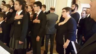 Himne d'Andorra al Palau Episcopal
