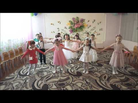"Общий танец  ""  Дружба -  это не работа  ""     средняя гр д/с №446 м. Харкова"