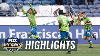 Sounders stay atop MLS table with 2-0 win over LAFC | 2021 MLS Highlights