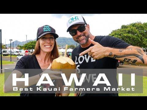 BEST Kauai Farmers Market | Tasting Kauai Lihue Farm Food Tour | Hawaii Vacation Tips