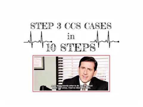 USMLE Step 3 CCS Strategy