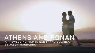 Athens and Ronan: Prewedding Film Teaser in San Francisco, USA