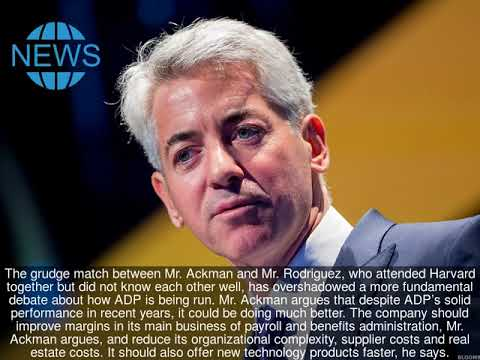 Bill Ackman's Battle With ADP Is a Litmus Test for Activist Investing