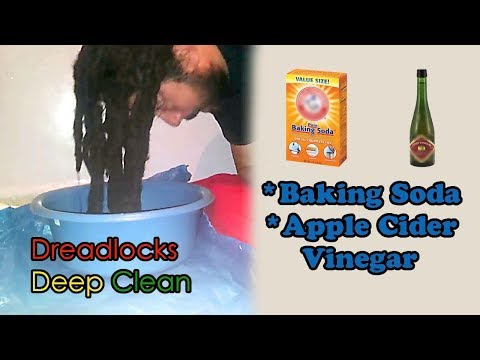 Dreadlocks Baking Soda Deep Clean ASV